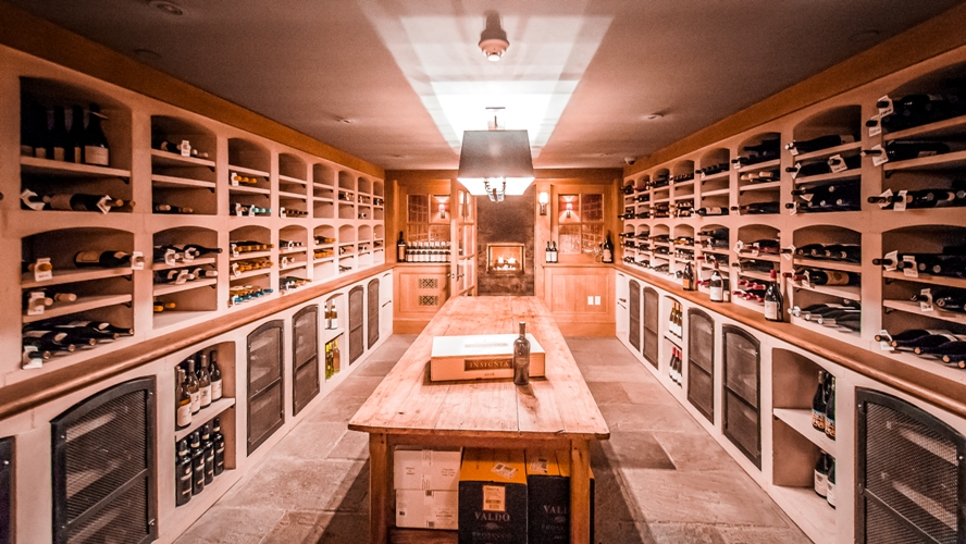 Bedford Post Inn Wine Cellar Bedford Westchester NY