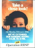 Bank of Montreal Poster Promo, 1987