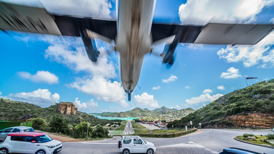 St Barth Aeroport Gustav Airport By Sylvain Cote