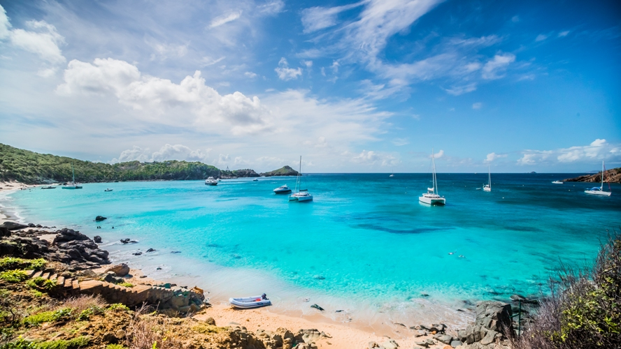 St Barth Anse Du Colombier Beach By Sylvain Cote