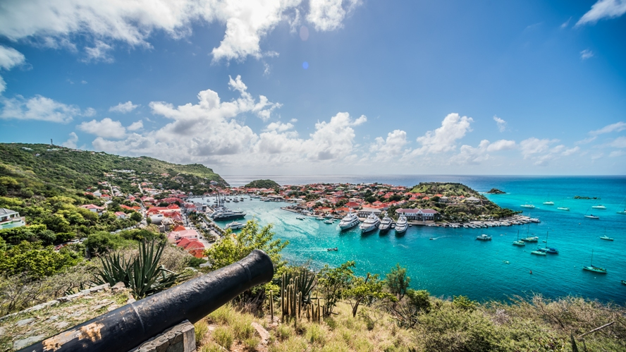 St Barth Gustavia By Sylvain Cote