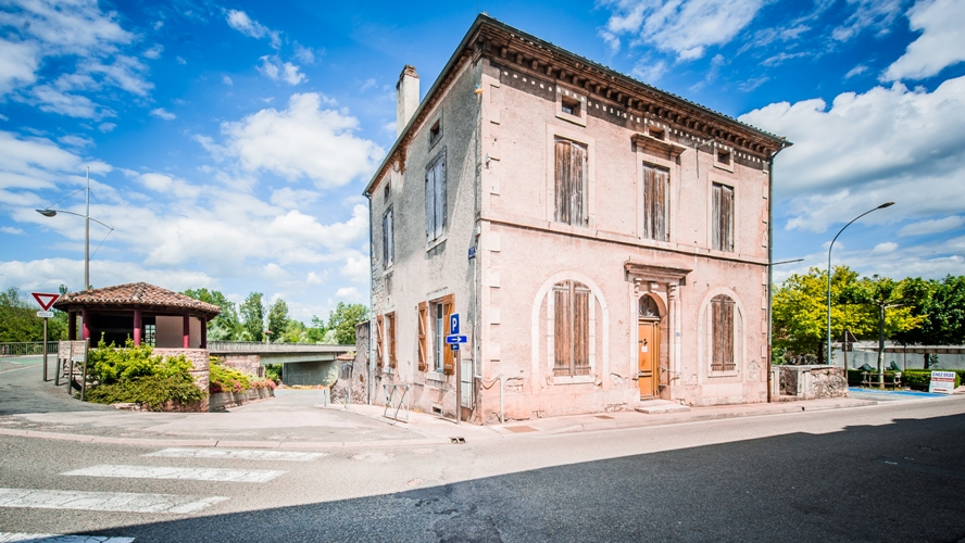 Historic Old Stone Village Home Cahors Region Southern France